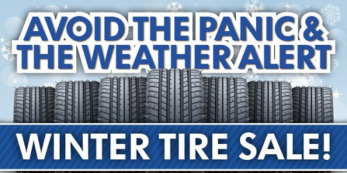 Early Bird Winter Tire Packages Pricing!