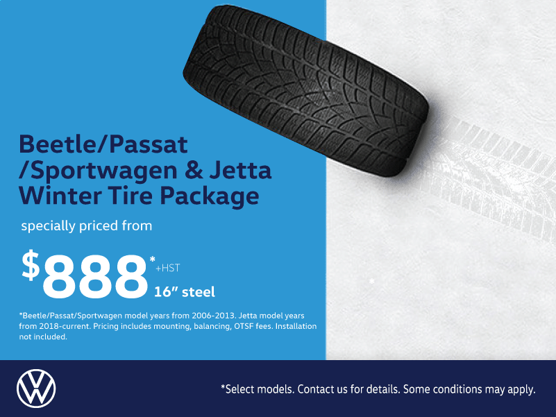 Beetle/Passat/Sportwagen/Jetta Winter Tire Packages