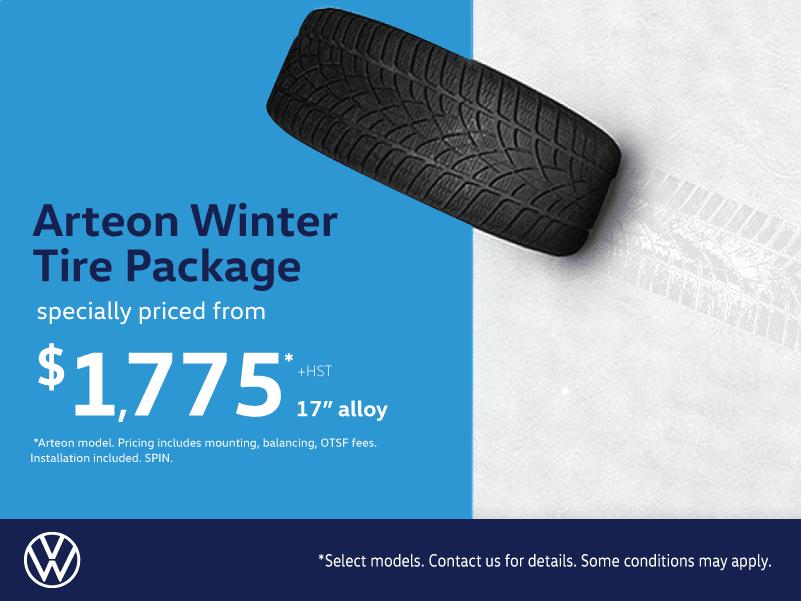 Arteon Winter Tire Package