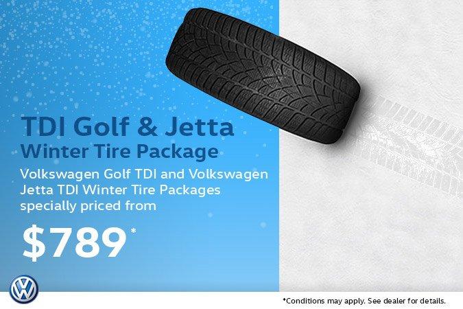 Golf & Jetta Winter Tire Package