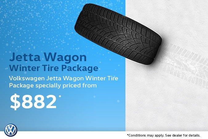 2006-2013 Jetta Wagon Winter Tire Package