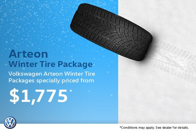 Arteon Winter Tire Package