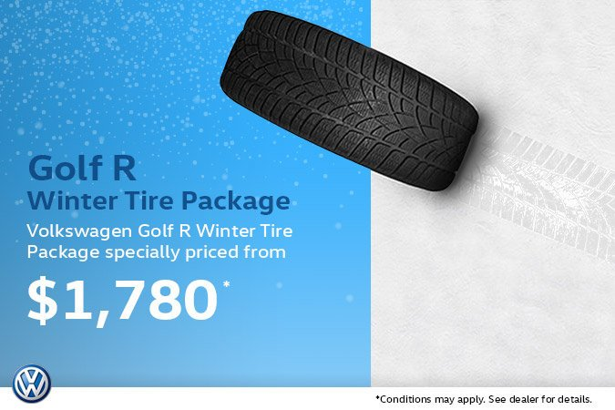 Golf R Winter Tire Package