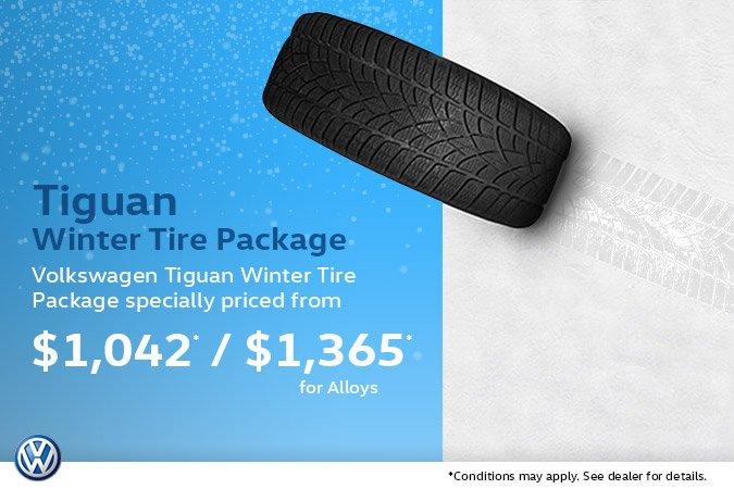 Tiguan LWB/SWB Winter Tire Package