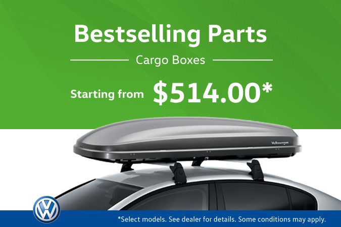 The Hottest VW Parts at MidTown! Cargo Boxes