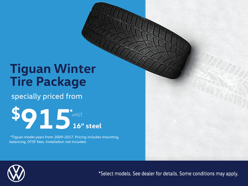Tiguan Winter Tire Package