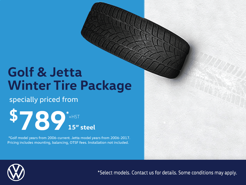 Golf & Jetta Winter Tire Package