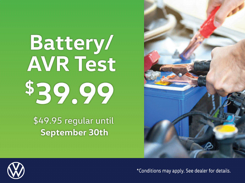 Battery and AVR Test Special