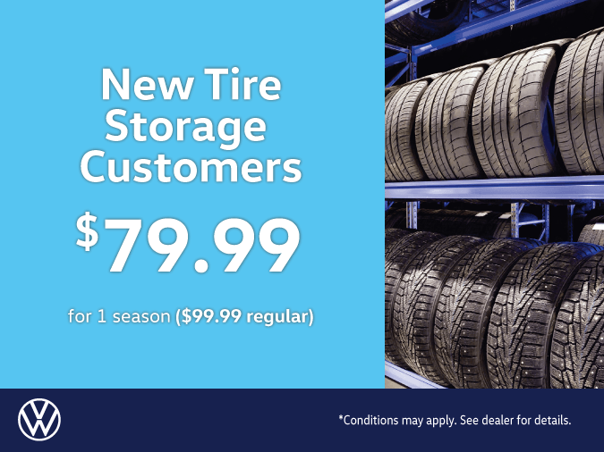 New Tire Storage Customers