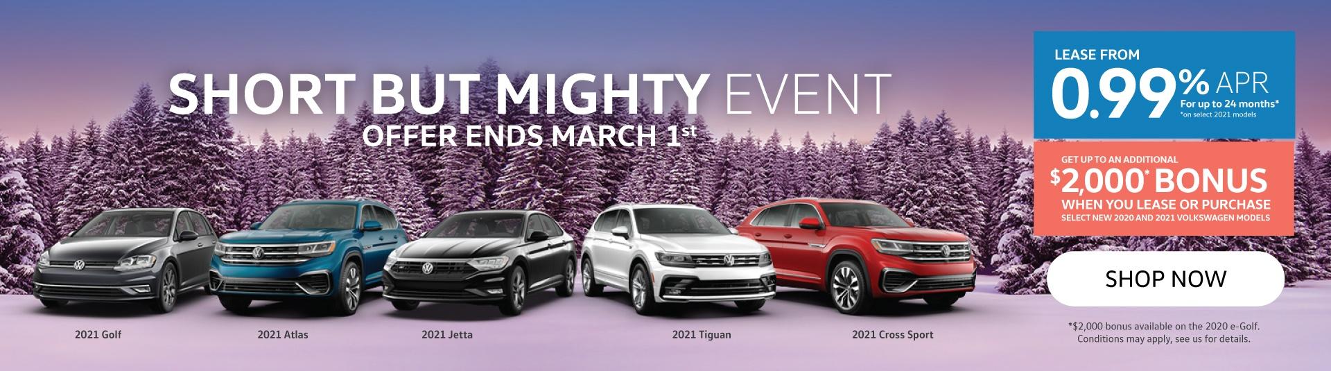 Short But Mighty Event - Volkswagen MidTown Toronto