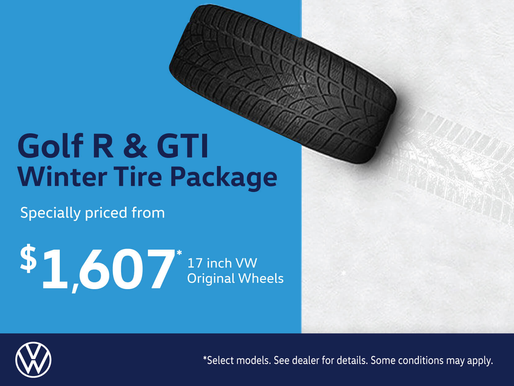 Golf R & GTI Winter Tire Package