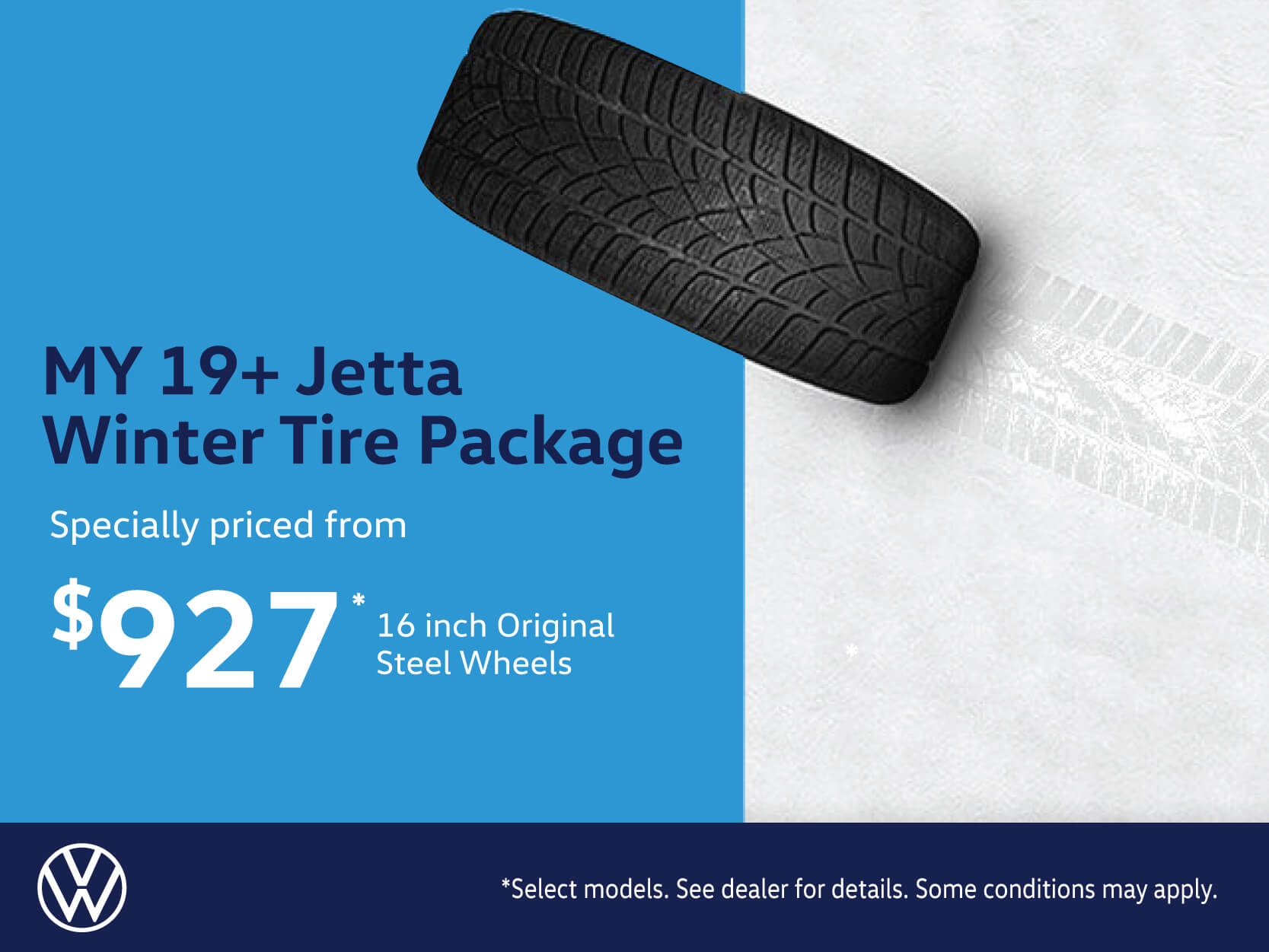 Jetta 2019 Winter Tire Package