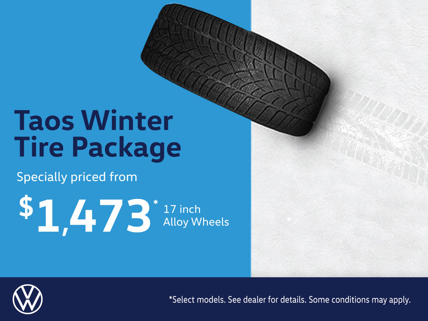 Taos Winter Alloy Tire Package