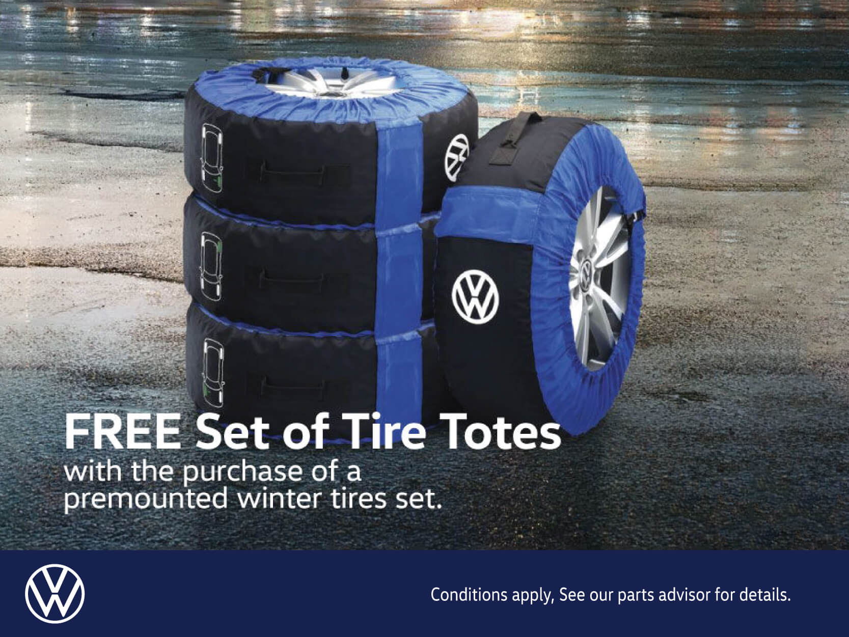 Free Set Of Tire Totes