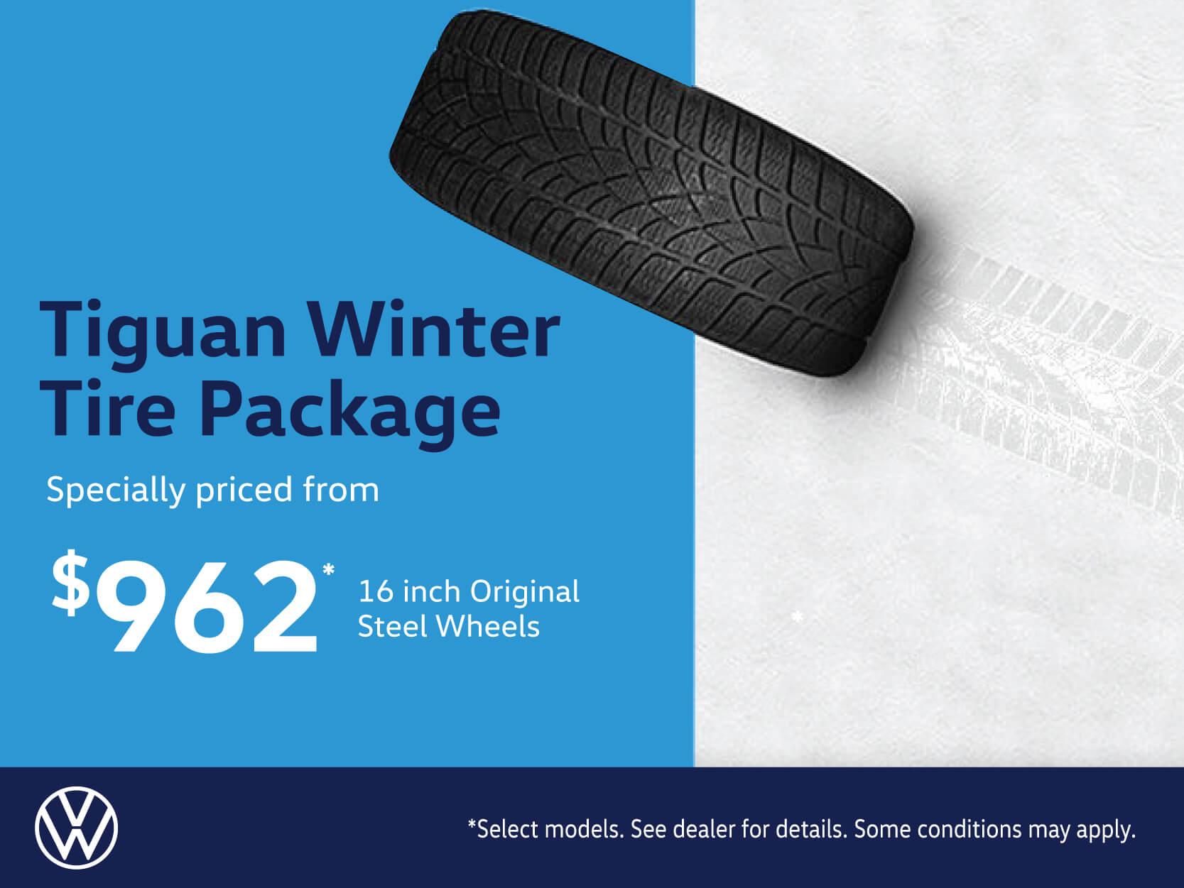 Tiguan Steel Winter Tire Package